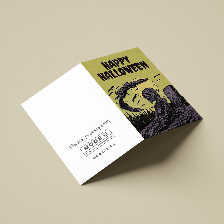 Halloween Greeting Card 01